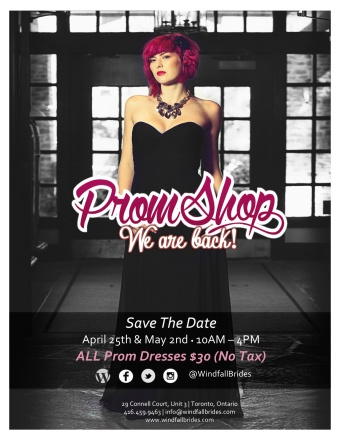 Prom Shop 2015