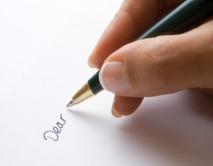 hand written note pic